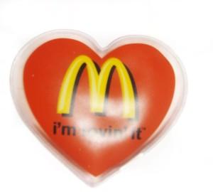Żelowy kompres z logo firmy